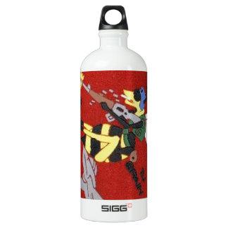 401st SPS B Flight Red Torrejon AB Spain Water Bottle