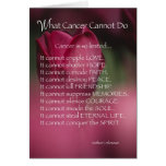 4021 What Cancer Cannot Do Card