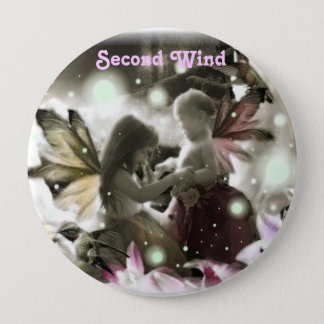 402885183, Second Wind Pinback Button