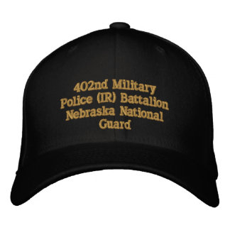 402nd Military Police Bn. Embroidered Baseball Cap