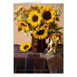 4038 Sunflower Bouquet Birthday Card
