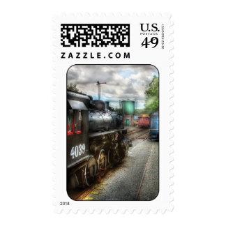 4039 - En la yarda del tren Envio