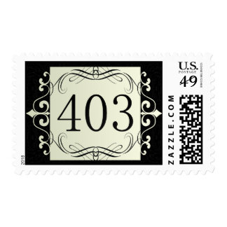 403 Area Code Stamp