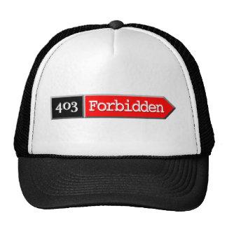 403 - Forbidden Trucker Hat