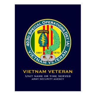 403d SOD-A 2 - ASA Vietnam Postcard