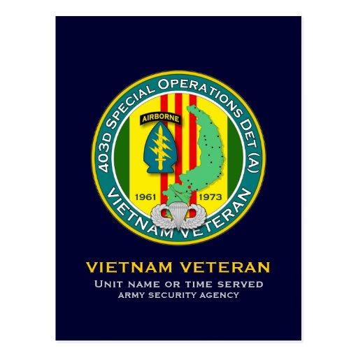 403d SODA - ASA Vietnam Postal