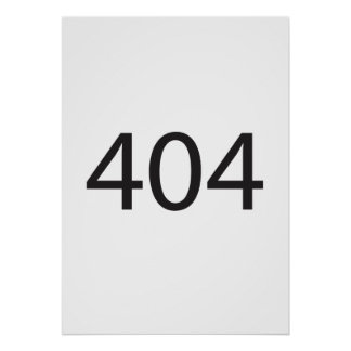404 ai poster