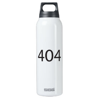 404.ai 16 oz insulated SIGG thermos water bottle