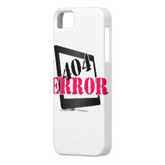 404 Error iPhone 5 Cases