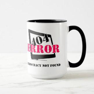 404 Error: Democracy Not Found Mug