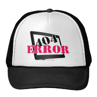 404 Error Trucker Hats
