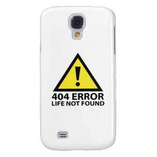 404 Error : Life Not Found Galaxy S4 Cover