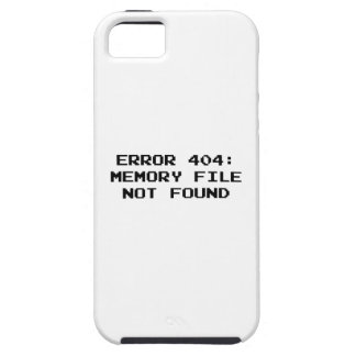 404 Error : Memory File Not Found iPhone SE/5/5s Case
