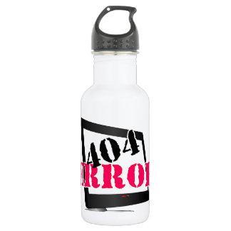 404 Error 18oz Water Bottle