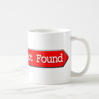 404 - File Not Found Coffee Mug