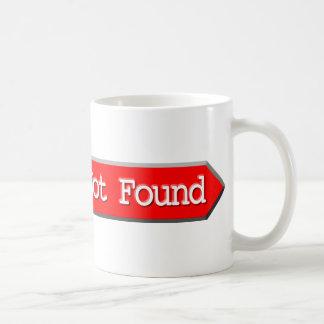 404 - File Not Found Classic White Coffee Mug