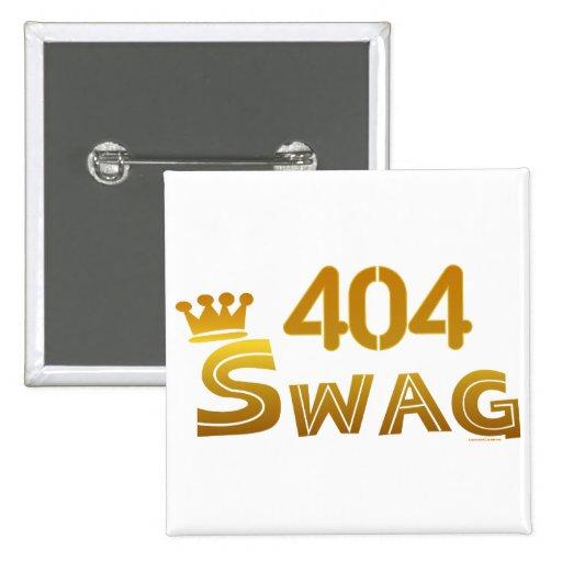 404 Georgia Swag Button