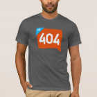404 Klout not found. T-Shirt