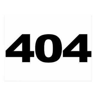 404 Not Found Post Cards