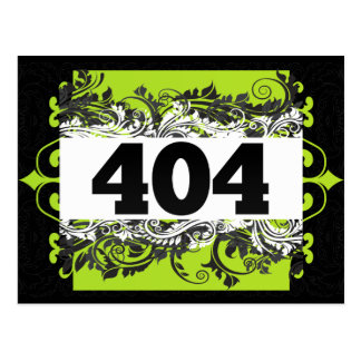 404 POST CARDS