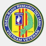 404o RRD-A 2 - ASA Vietnam Etiqueta Redonda