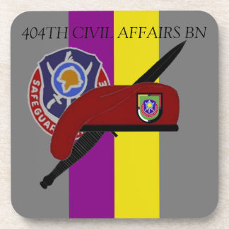404TH CIVIL AFFAIRS BATTALION COASTERS