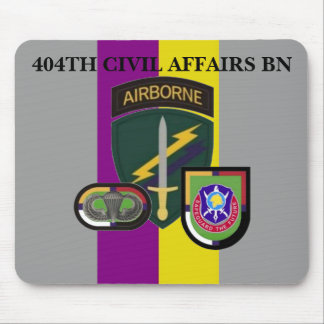 404TH CIVIL AFFAIRS BATTALION MOUSEPAD