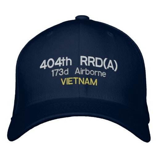 404th RRD(A), 173d Airborne, VIETNAM Embroidered Baseball Cap
