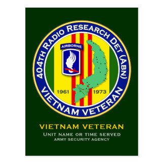 404th RRD-A 2 - ASA Vietnam Postcard