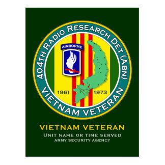 404th RRD-A - ASA Vietnam Postcard