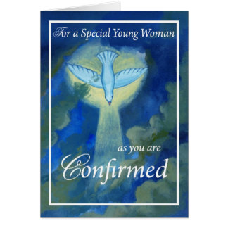 4050 Young Woman Confirmed Card