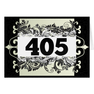 405 CARDS
