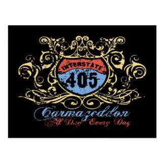 405 Carmageddon Post Cards