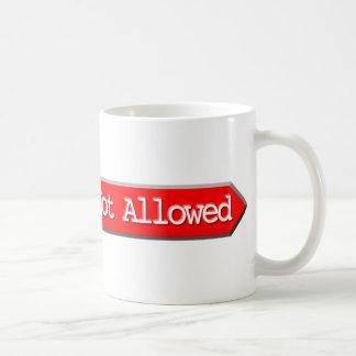 405 - Method Not Allowed Classic White Coffee Mug