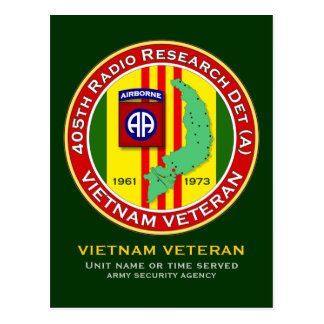 405th RRD-A 2 - ASA Vietnam Postcard