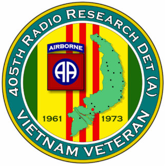405th RRD-A - ASA Vietnam Statuette