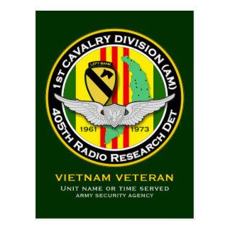 405th RRD PLB 1 - ASA Vietnam Postcard