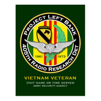 405th RRD PLB 2 - ASA Vietnam Postcard