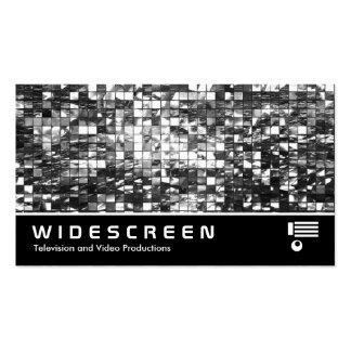 406 con pantalla grande - Mosaico abstracto Tarjetas De Negocios
