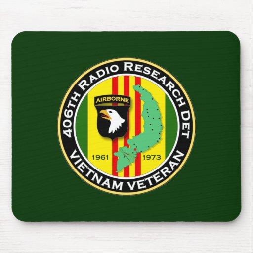 406o RRD 2 - ASA Vietnam Alfombrillas De Ratones