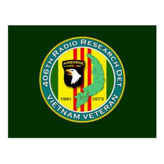 406o RRD - ASA Vietnam Tarjeta Postal