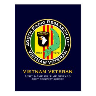 406th RRD 2 - ASA Vietnam Postcard
