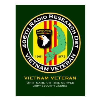 406th RRD 2 - ASA Vietnam Post Cards
