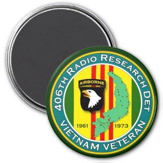 406th RRD - ASA Vietnam Magnet