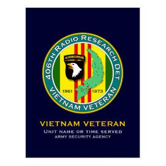 406th RRD - ASA Vietnam Postcard