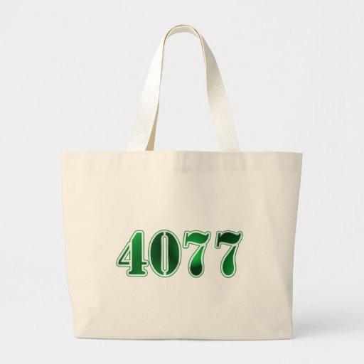 4077 JUMBO TOTE BAG