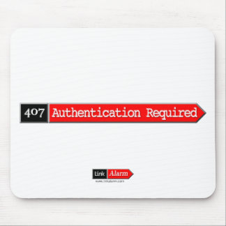407 - Authentication Required Mouse Pad