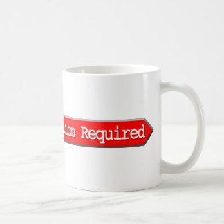 407 - Authentication Required Mug