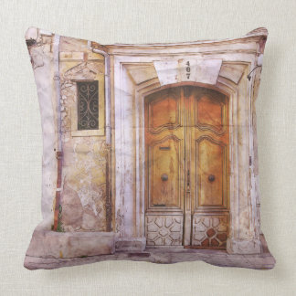 407 North Archway Throw Pillow