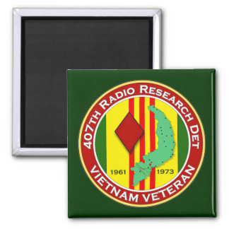 407th RRD - ASA Vietnam Magnet